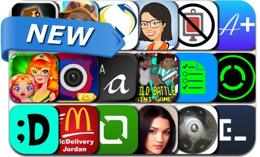 Newly Released iPhone & iPad Apps - July 29, 2015