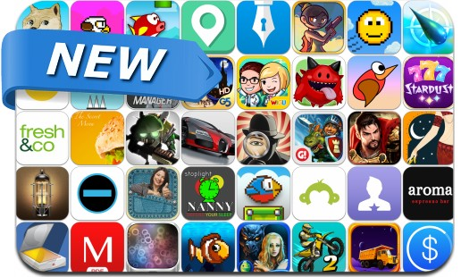 Newly Released iPhone & iPad Apps - February 21, 2014