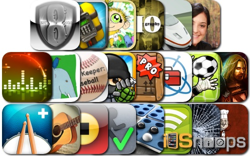 iPhone and iPad Apps Gone Free - March 25 Roundup
