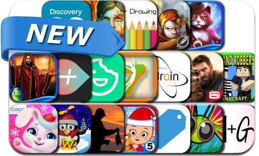 Newly Released iPhone & iPad Apps - December 3, 2015