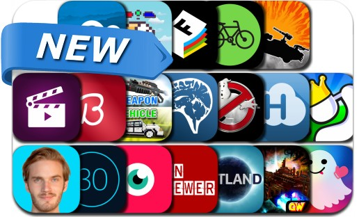 Newly Released iPhone & iPad Apps - July 8, 2016