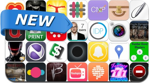 Newly Released iPhone & iPad Apps - January 9