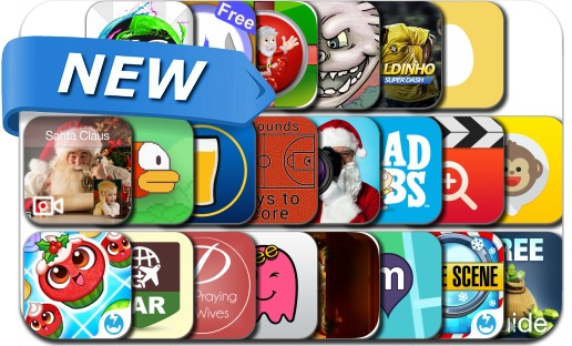 Newly Released iPhone & iPad Apps - December 24, 2014