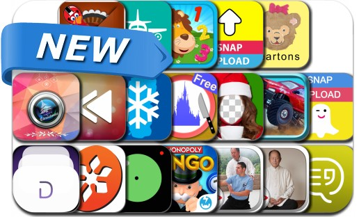 Newly Released iPhone & iPad Apps - December 26, 2014