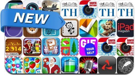 Newly Released iPhone & iPad Apps - December 24