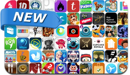 Newly Released iPhone & iPad Apps - November 22