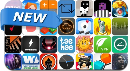 Newly Released iPhone & iPad Apps - April 24, 2015