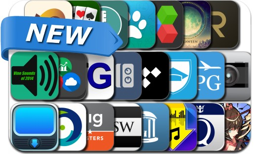 Newly Released iPhone & iPad Apps - October 29, 2014