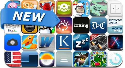 Newly Released iPhone & iPad Apps - June 18