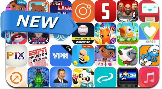Newly Released iPhone & iPad Apps - January 15, 2016