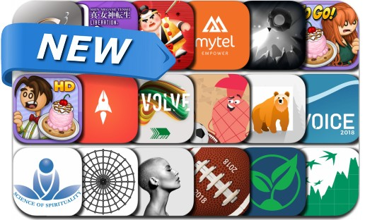 Newly Released iPhone & iPad Apps - July 25, 2018