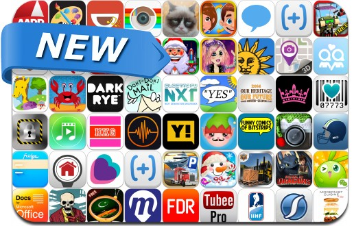 Newly Released iPhone & iPad Apps - December 21
