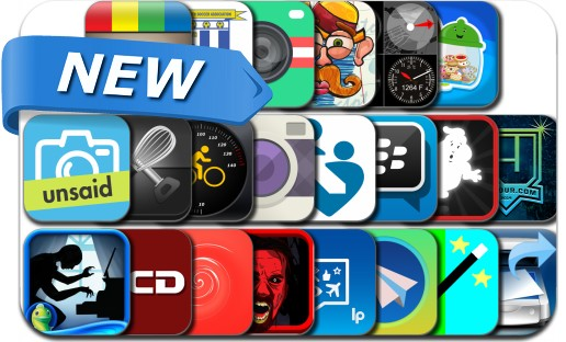 Newly Released iPhone & iPad Apps - October 22