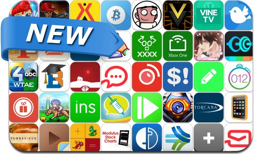 Newly Released iPhone & iPad Apps - November 20