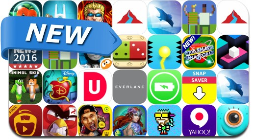 Newly Released iPhone & iPad Apps - July 31, 2015