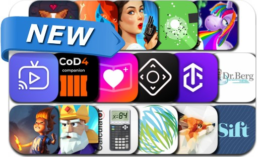 Newly Released iPhone & iPad Apps - October 20, 2018
