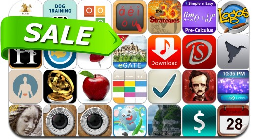 TEMP iPhone & iPad App Price Drops - January 20