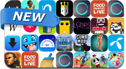 Newly Released iPhone & iPad Apps - August 11, 2016