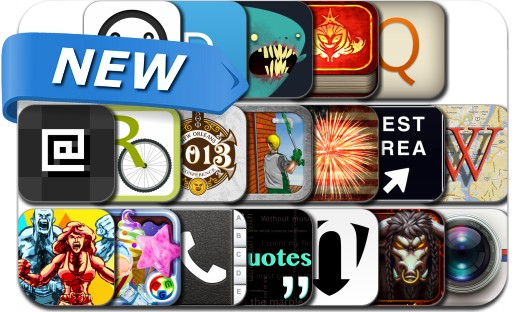 Newly Released iPhone & iPad Apps - June 30
