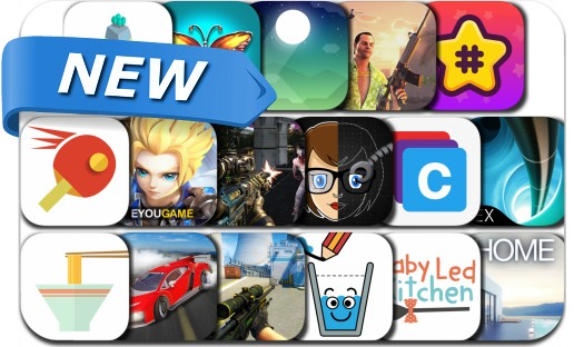 Newly Released iPhone & iPad Apps - August 27, 2018