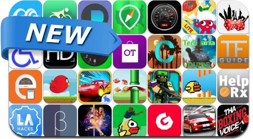 Newly Released iPhone & iPad Apps - April 13, 2014