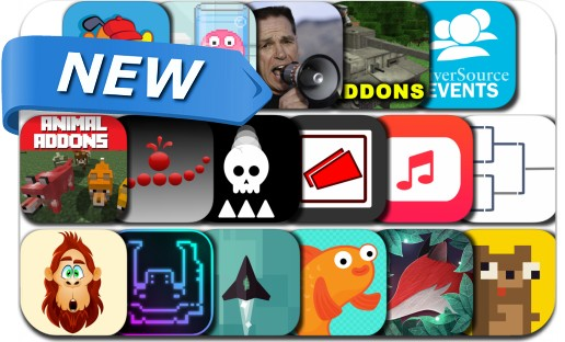 Newly Released iPhone & iPad Apps - March 15, 2017