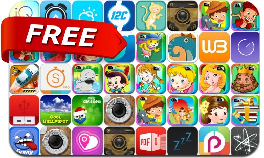 iPhone & iPad Apps Gone Free - August 11, 2014