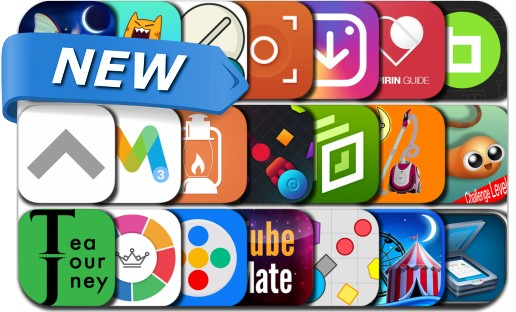 Newly Released iPhone & iPad Apps - June 21, 2016