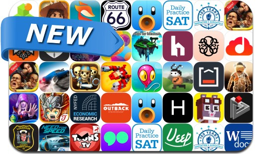 Newly Released iPhone & iPad Apps - October 2, 2015