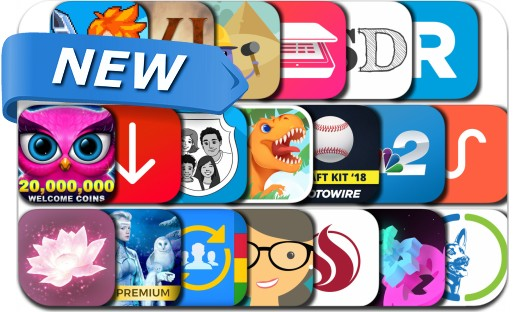 Newly Released iPhone & iPad Apps - December 22, 2017