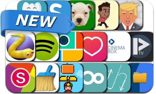 Newly Released iPhone & iPad Apps - May 7, 2016