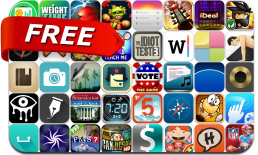 iPhone & iPad Apps Gone Free - July 4, 2014