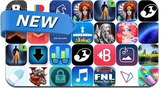 Newly Released iPhone & iPad Apps - September 1, 2016