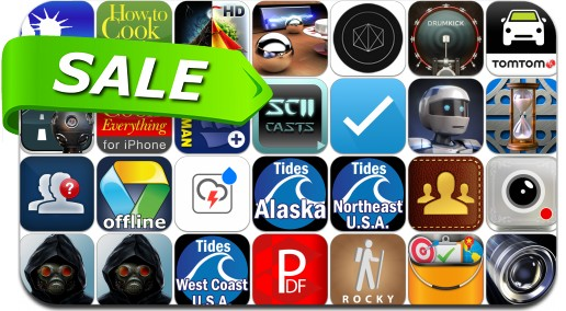 iPhone & iPad App Price Drops - June 29, 2014