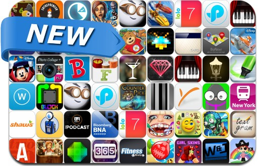 Newly Released iPhone & iPad Apps - July 25