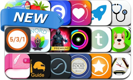 Newly Released iPhone & iPad Apps - July 3, 2018