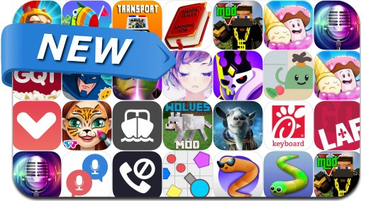 Newly Released iPhone & iPad Apps - May 27, 2016
