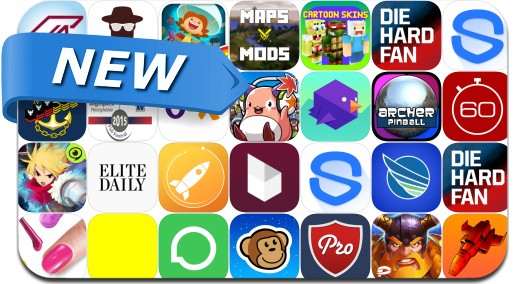Newly Released iPhone & iPad Apps - November 7, 2015