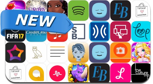 Newly Released iPhone & iPad Apps - September 22, 2016