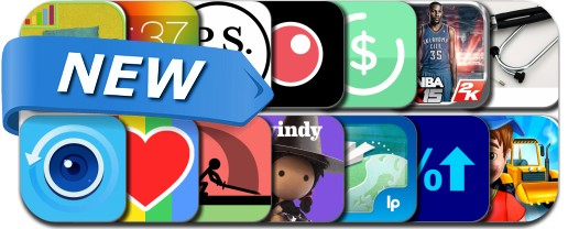 Newly Released iPhone & iPad Apps - October 12, 2014