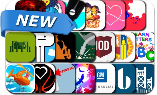 Newly Released iPhone & iPad Apps - November 8, 2018