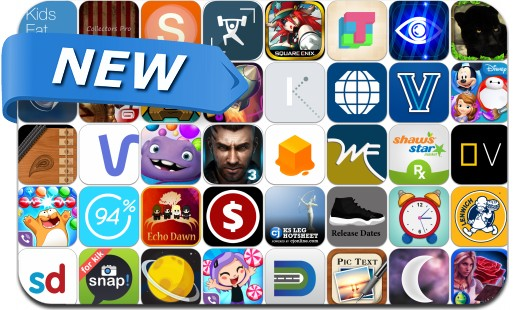 Newly Released iPhone & iPad Apps - February 27, 2015