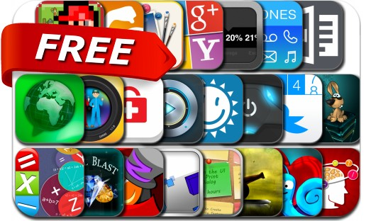 iPhone & iPad Apps Gone Free - January 15