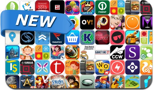 Newly Released iPhone & iPad Apps - November 8