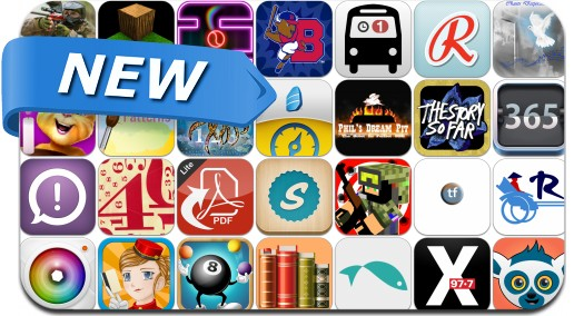 Newly Released iPhone & iPad Apps - April 27