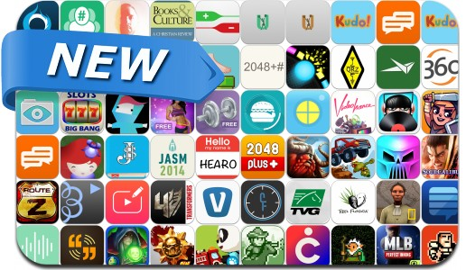 Newly Released iPhone & iPad Apps - May 9, 2014