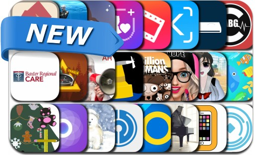 Newly Released iPhone & iPad Apps - December 8, 2018