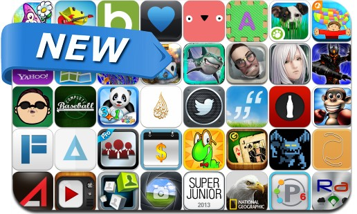 Newly Released iPhone & iPad Apps - April 19