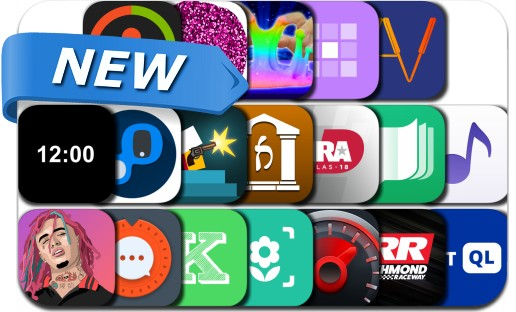 Newly Released iPhone & iPad Apps - April 24, 2018