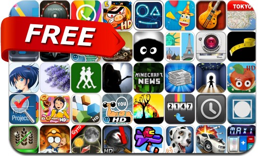 iPhone & iPad Apps Gone Free - June 7
